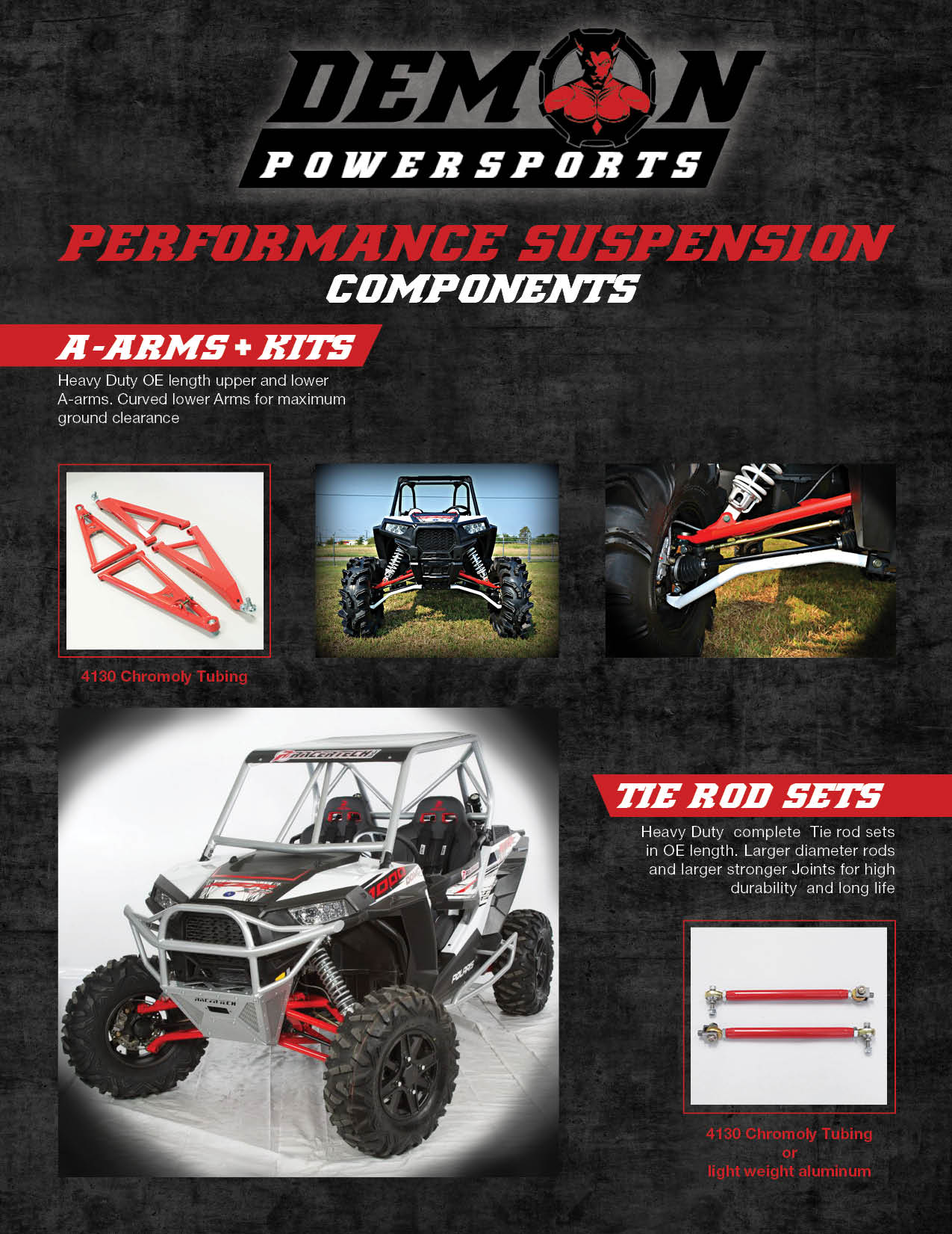 Demon Performance Suspension Components
