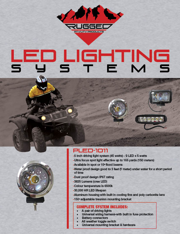Rugged LED light